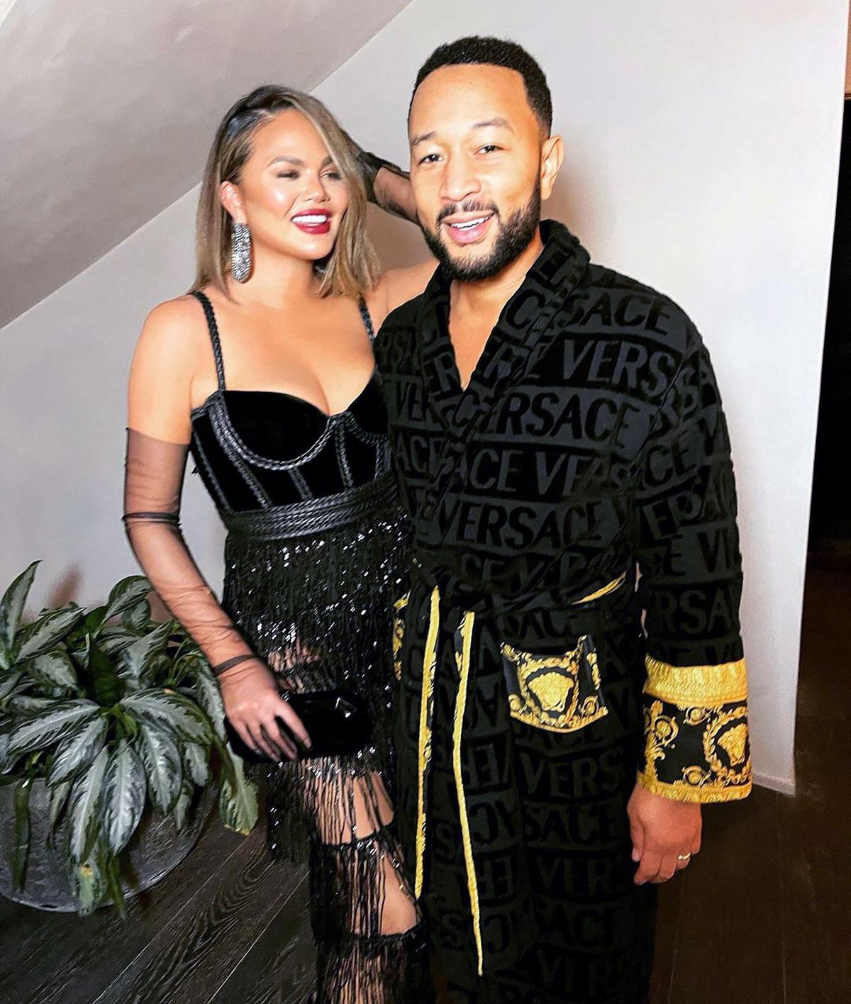 Grammys 2021: Chrissy Teigen Jokingly Calls Out John Legend Speech