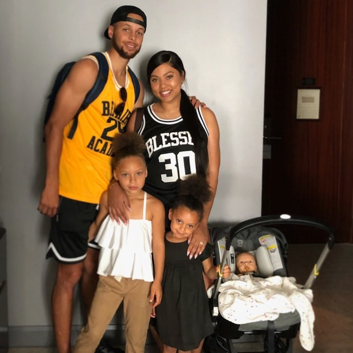 7 September 2018 Stephen Curry and Ayesha Curry's Family Album With 3 Kids