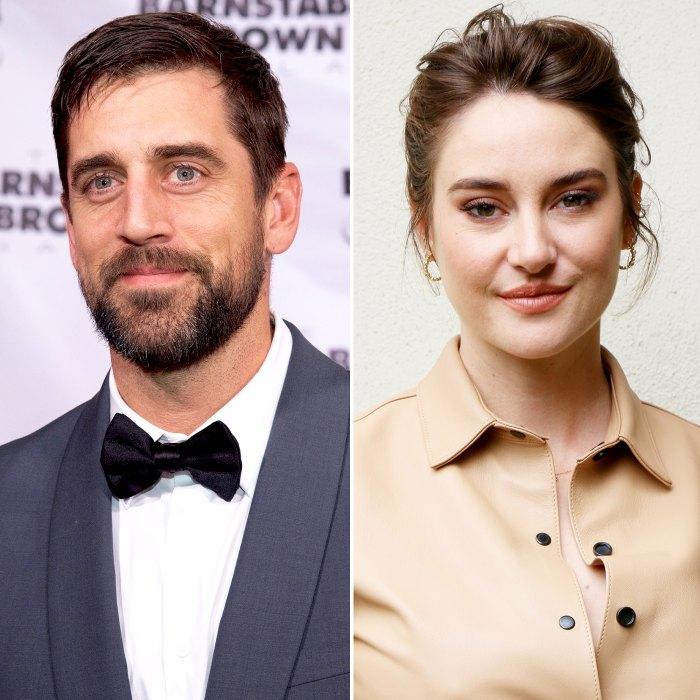 Aaron Rodgers dice que está realmente emocionado de tener hijos después del compromiso de Shailene Woodley