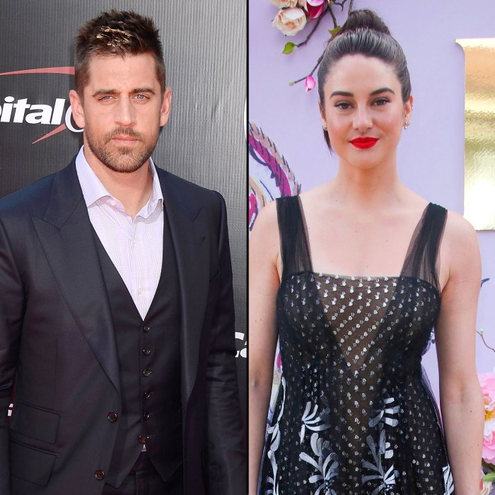 Aaron Rodgers and Shailene Woodley Spotted Together for the 1st Time Since Engagement News