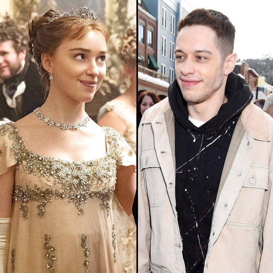 Are Bridgerton Phoebe Dynevor Pete Davidson Dating Why Fans Think So
