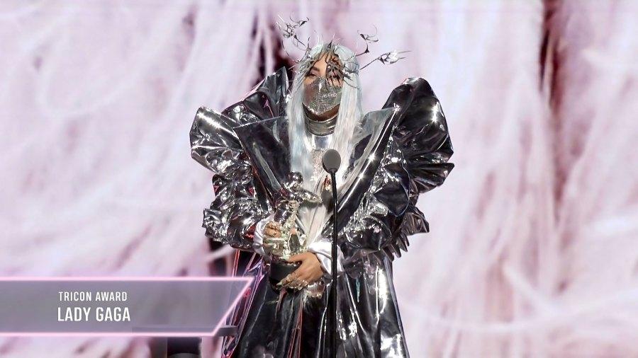 August 2020 Lady Gaga 2020 VMAs Tricon Award