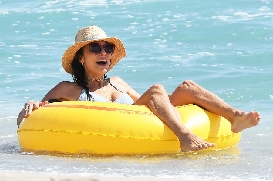 Bethenny Frankel Hits the Beach After Engagement New
