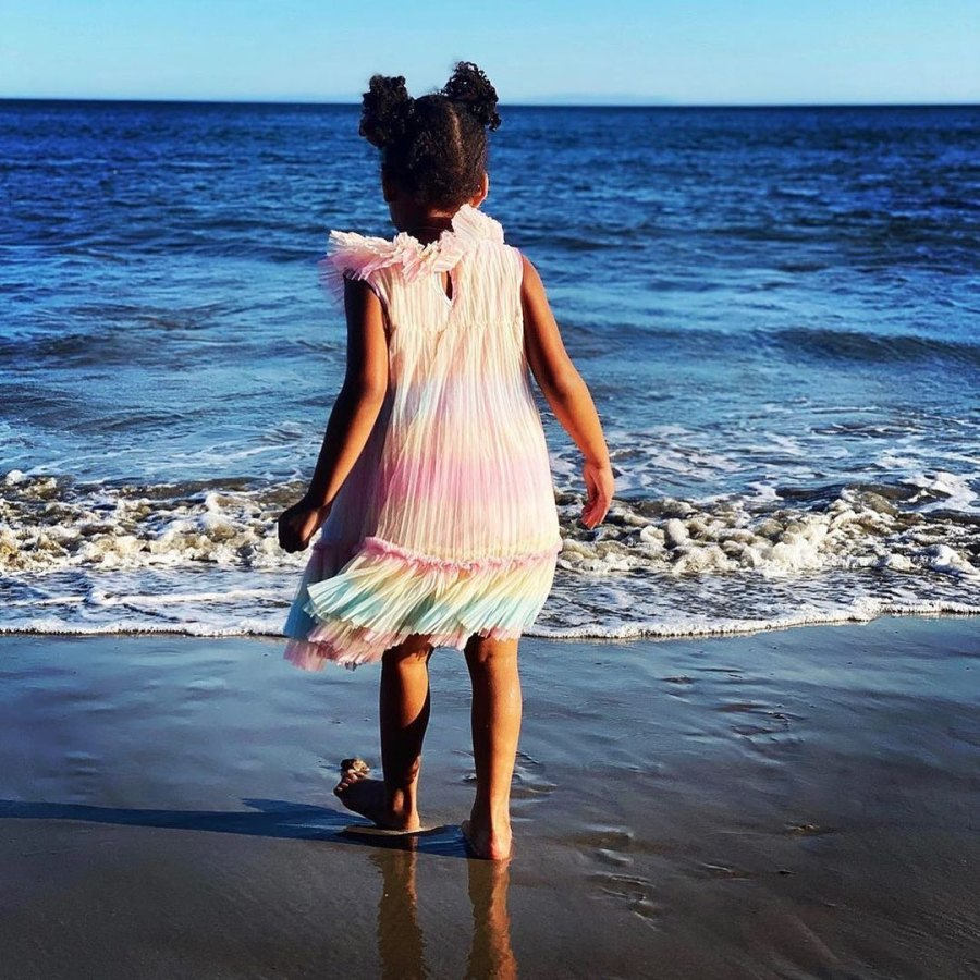 Beyonce Shares Rare Photos With 3 Kids During Beach Outing