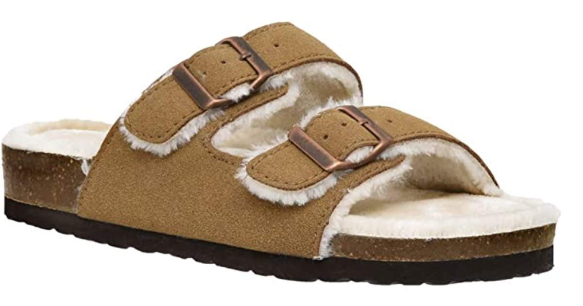 Everyone's Wearing Fuzzy Birkenstocks — How to Get the Look for Less.jpg