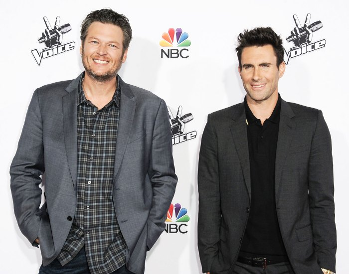 Blake Shelton Jokes Adam Levine Was Fired From The Voice