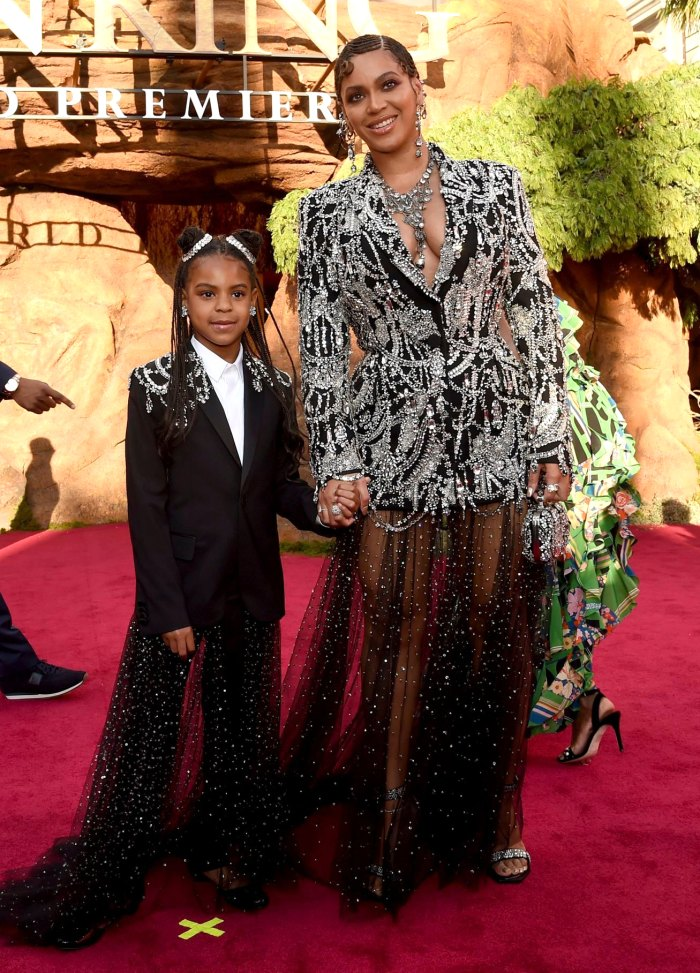 Blue Ivy Wins 1st Grammy Award for Mom Beyonce's 'Brown Skin Girl' Music Video