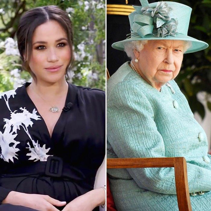 Experta en lenguaje corporal dice que Meghan Markle se estaba reprimiendo mientras hablaba sobre la reina Isabel II durante Tell-All