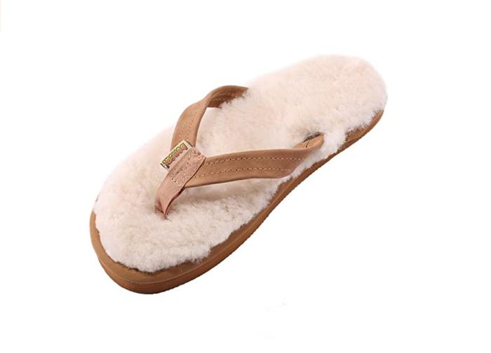 Bonsai Sandals Womens Sheepskin Sandals