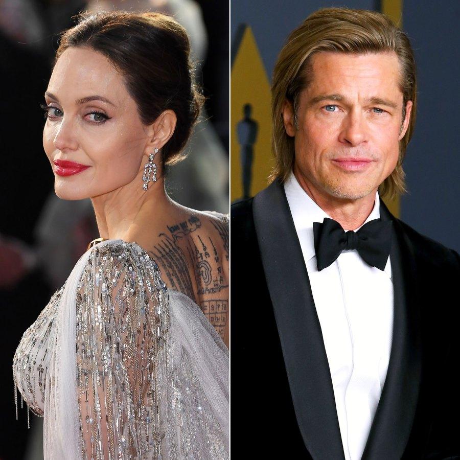 Brad Pitt and Angelina Jolie: The Way They Were