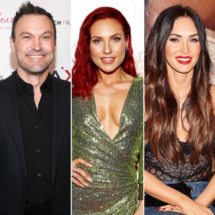Brian Austin Green honra a GF Sharna, Exes Megan y Vanessa en el Día de la Mujer