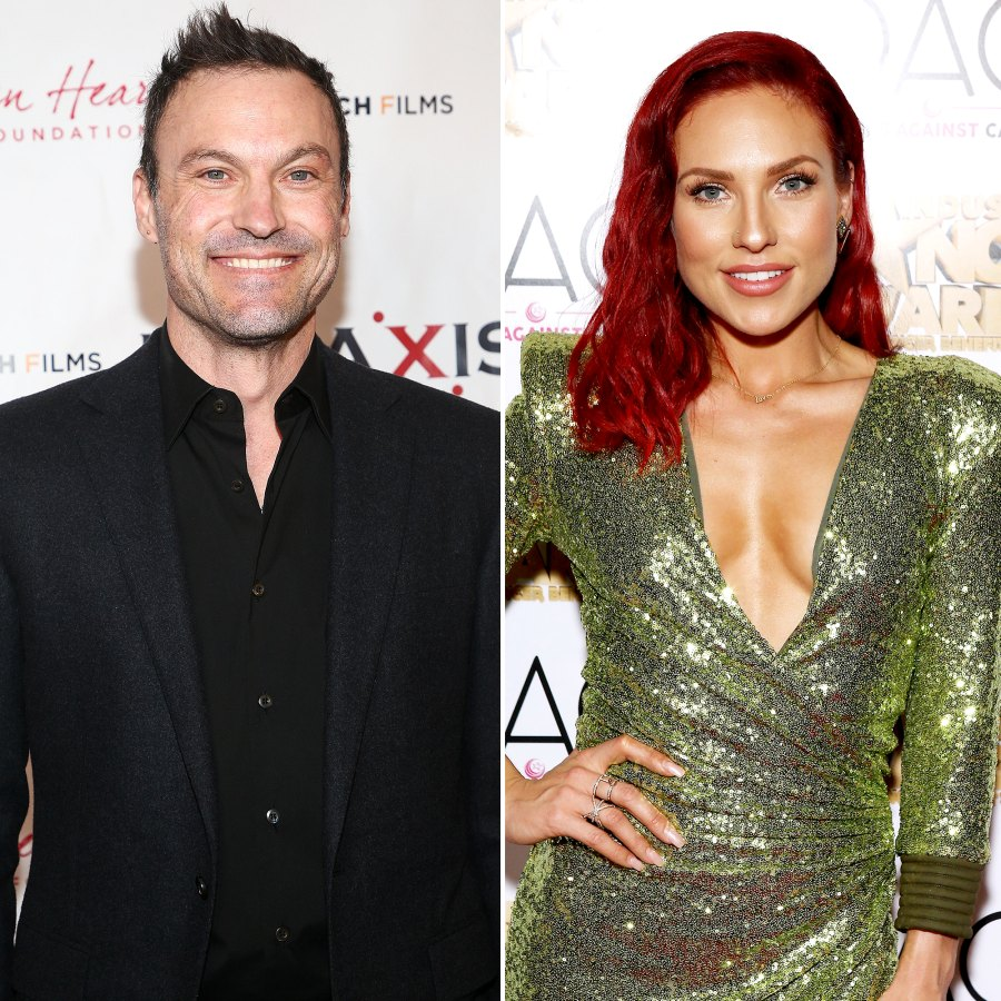 Brian Austin Green Honors Girlfriend Sharna Burgess and His Exes on International Women's Day 1