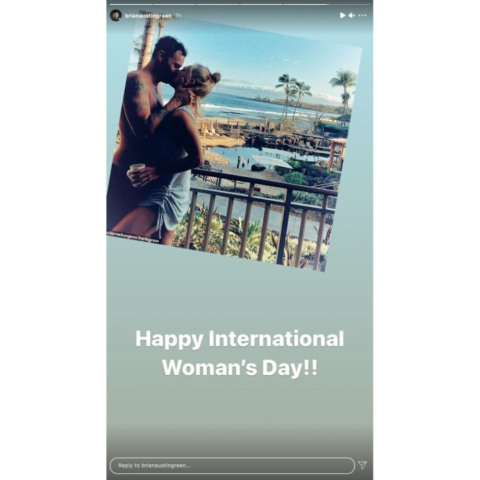 Brian Austin Green Wishes Sharna and Exes Happy International Women's Day