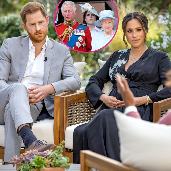 Buckingham Palace Reacts Prince Harry Meghan Markle Tell-All Interview