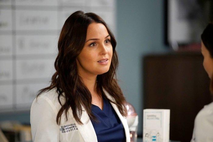 Camilla Luddington se burla de 'gente loca e inesperada' que regresa a 'Grey's Anatomy'