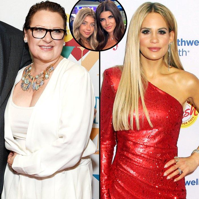 Caroline Manzo dice que Jackie Goldschneider estaba equivocado Arrastra a la hija de Teresa Giudice, Gia, a la pelea