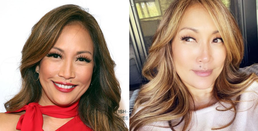 Carrie Ann Inaba Shows Off New Blonde 'Do