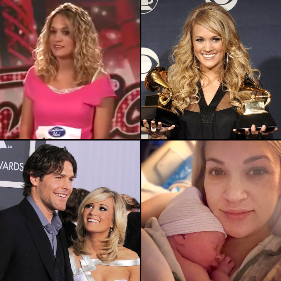 Carrie Underwood Through the Years