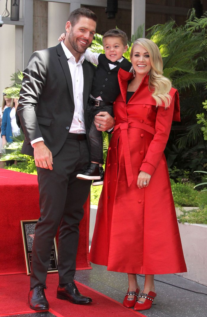 Carrie Underwood and Mike Fisher Celebrate Son Isaiah 6th Birthday