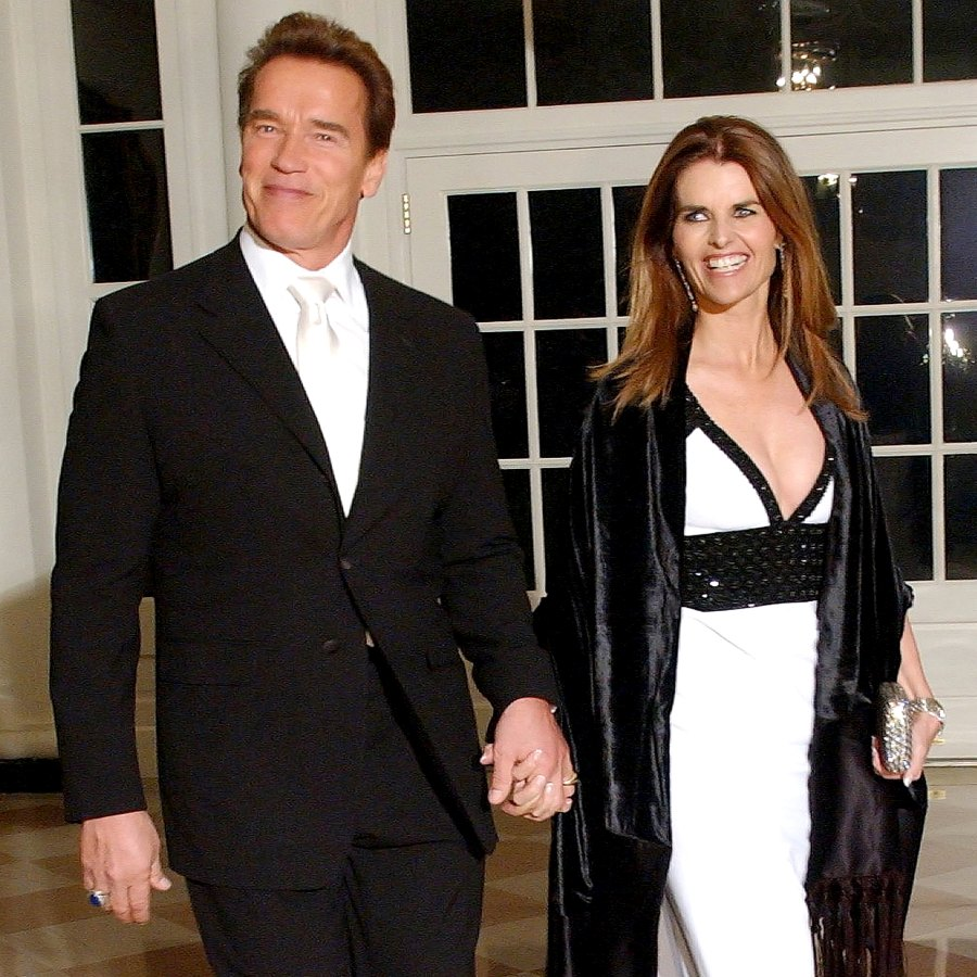 Maria Shriver and Arnold Schwarzenegger Celebrity Couples With Longest Divorces