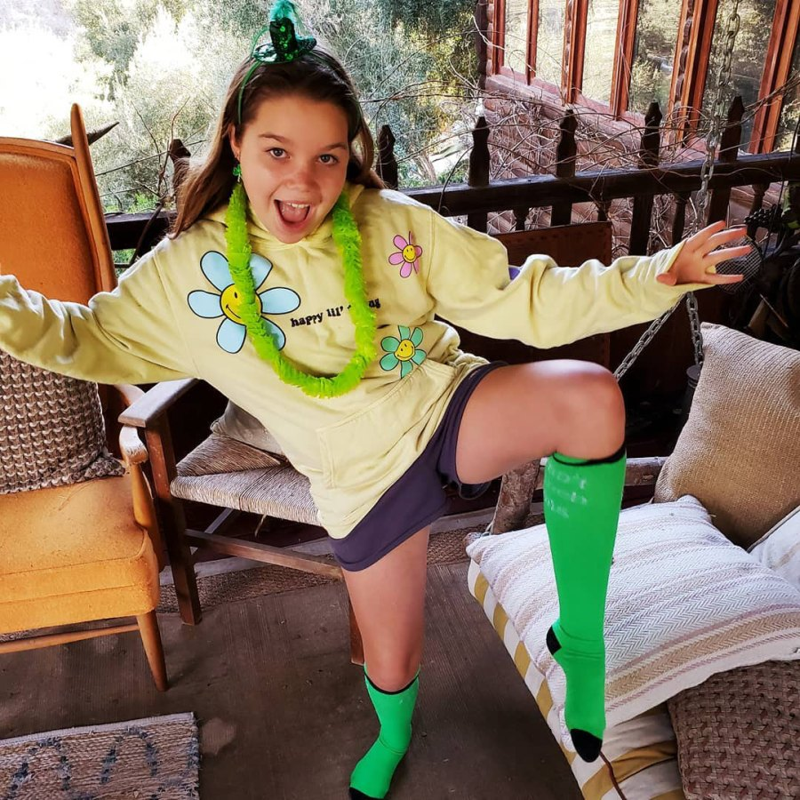 Jerry O'Connell Celebrity Kids Adorably Wearing Green St Patricks Day 2021