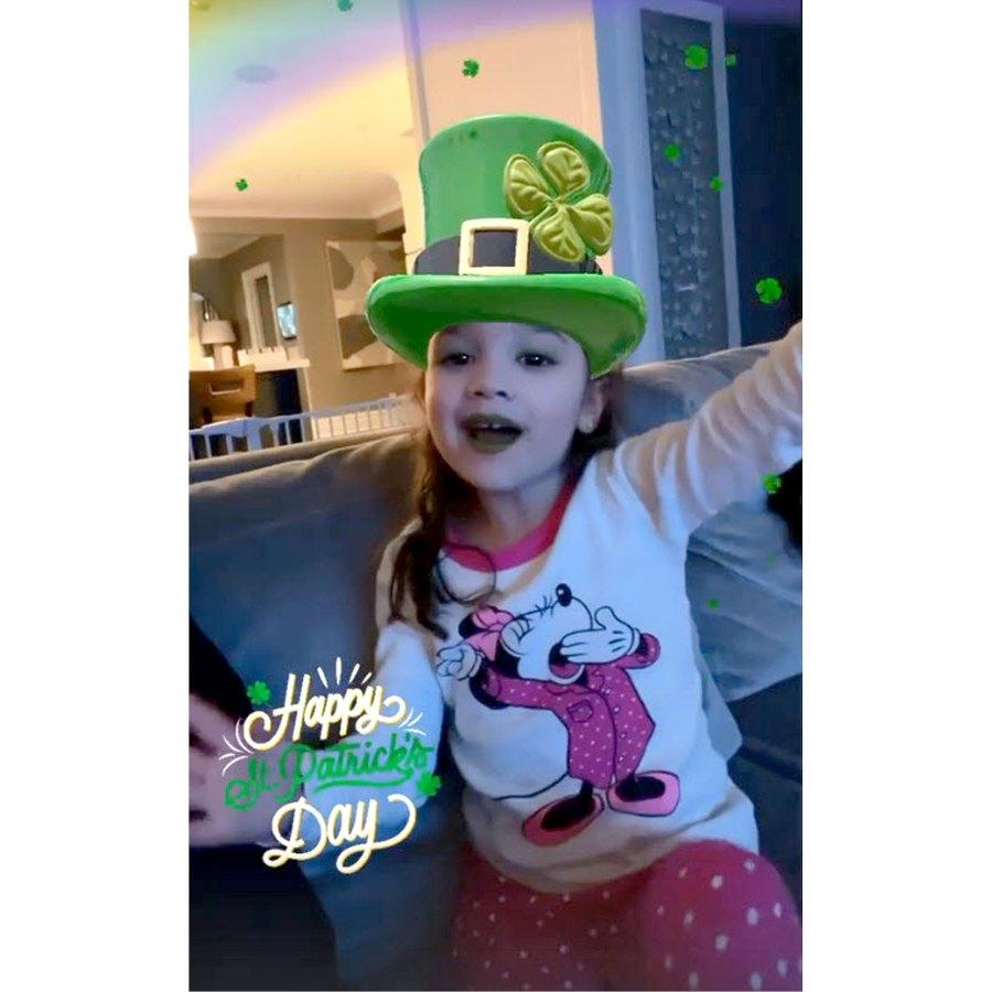 Kevin Jonas Celebrity Kids Adorably Wearing Green St Patricks Day 2021