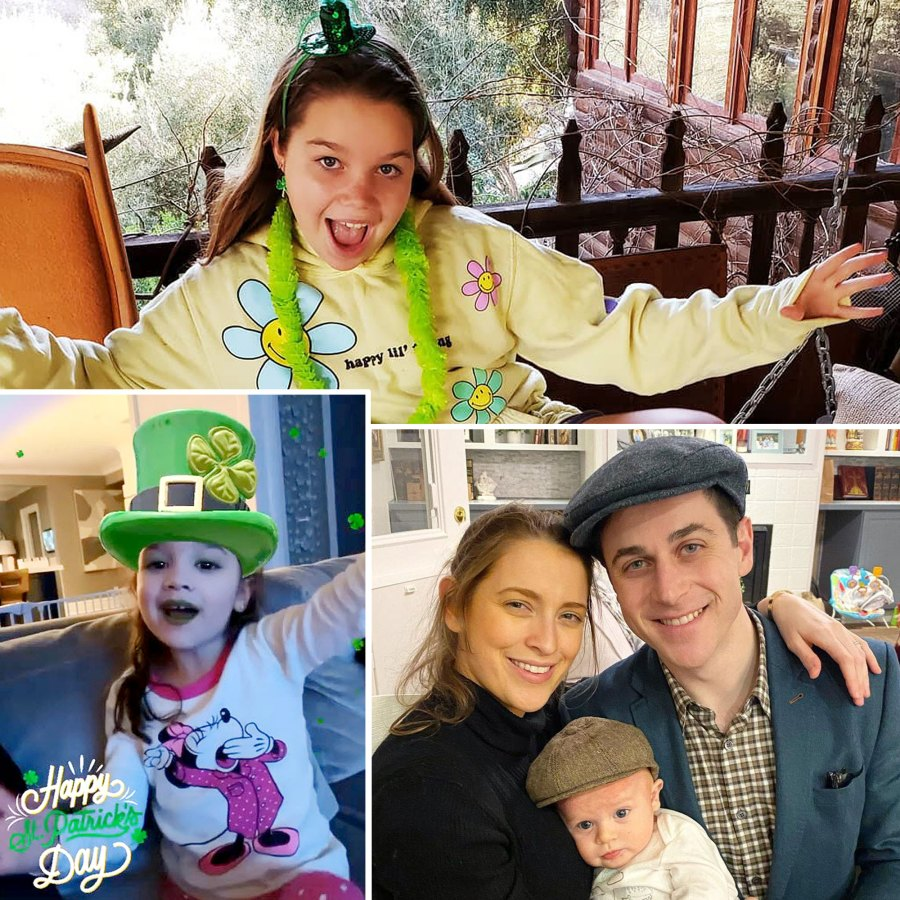 Celebrity Kids Adorably Wearing Green St Patricks Day 2021