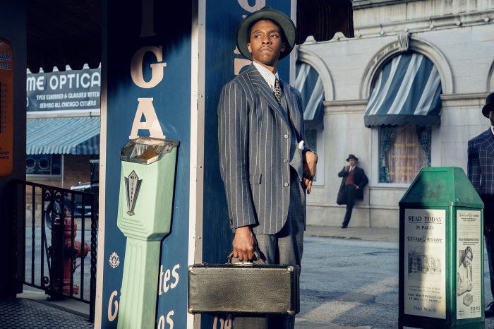 Chadwick Boseman como Levee en Black Bottom de Ma Rainey