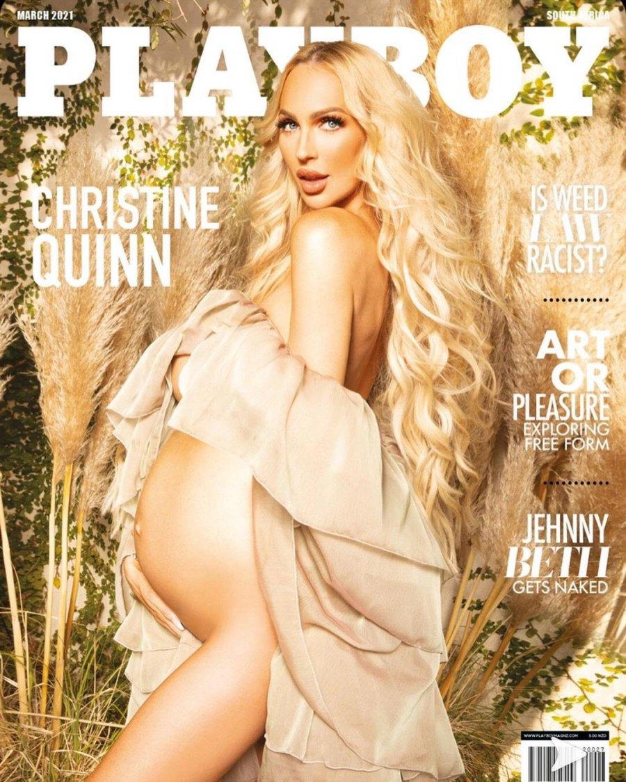 Christine Quinn Baby Bump Album Pregnant Christine Quinn Stuns Playboy Cover
