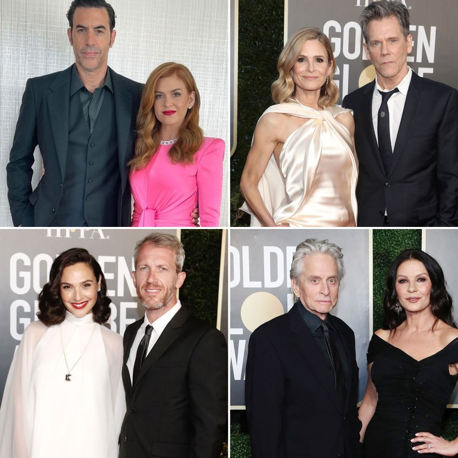 Cutest Couples at the 2021 Golden Globes