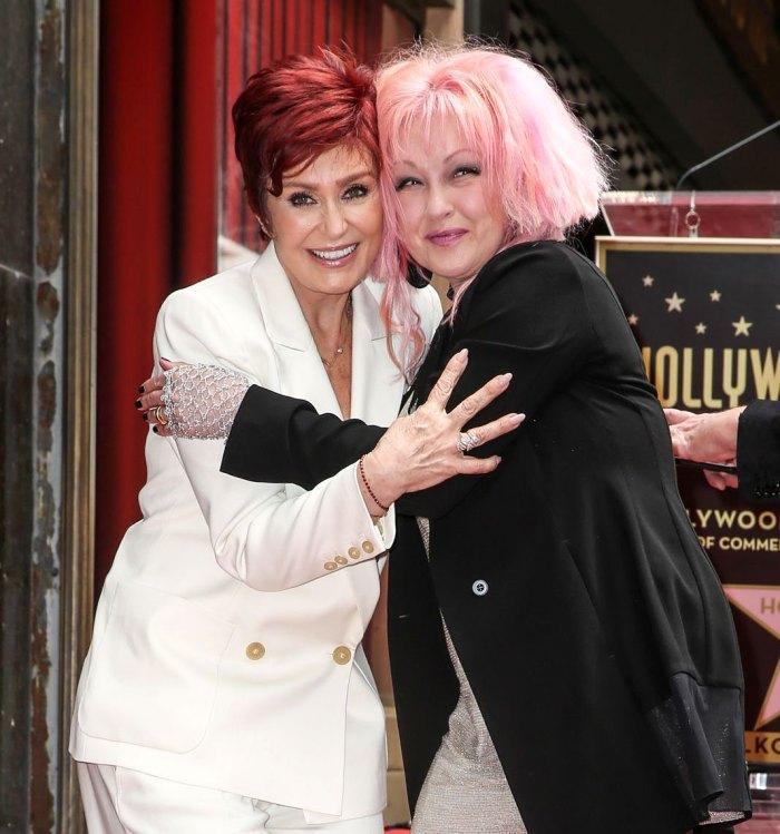 Cyndi Lauper Defends Sharon Osbourne Amid Talk Controversy