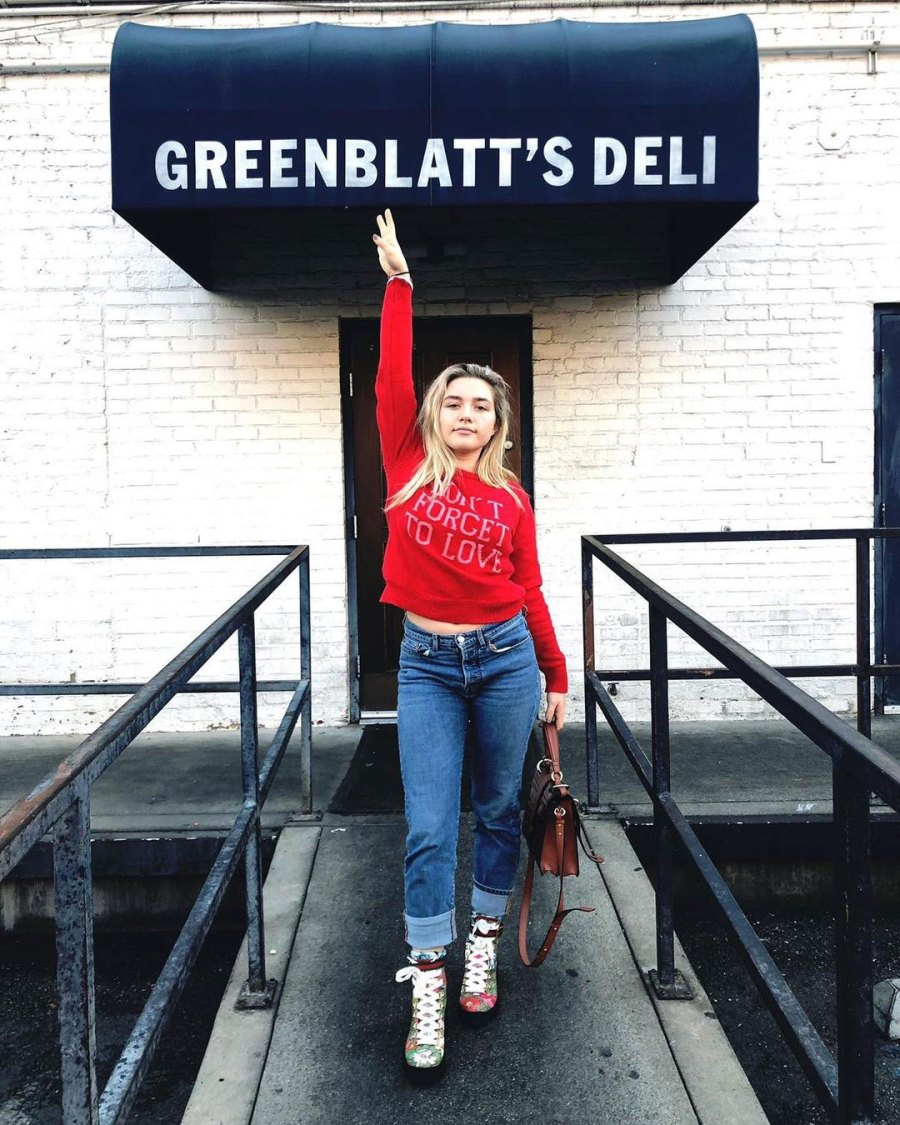 December 2019 Florence Claps Back Over Age Difference Florence Pugh Instagram Zach Braff and Florence Pugh A Timeline of Their Relationship