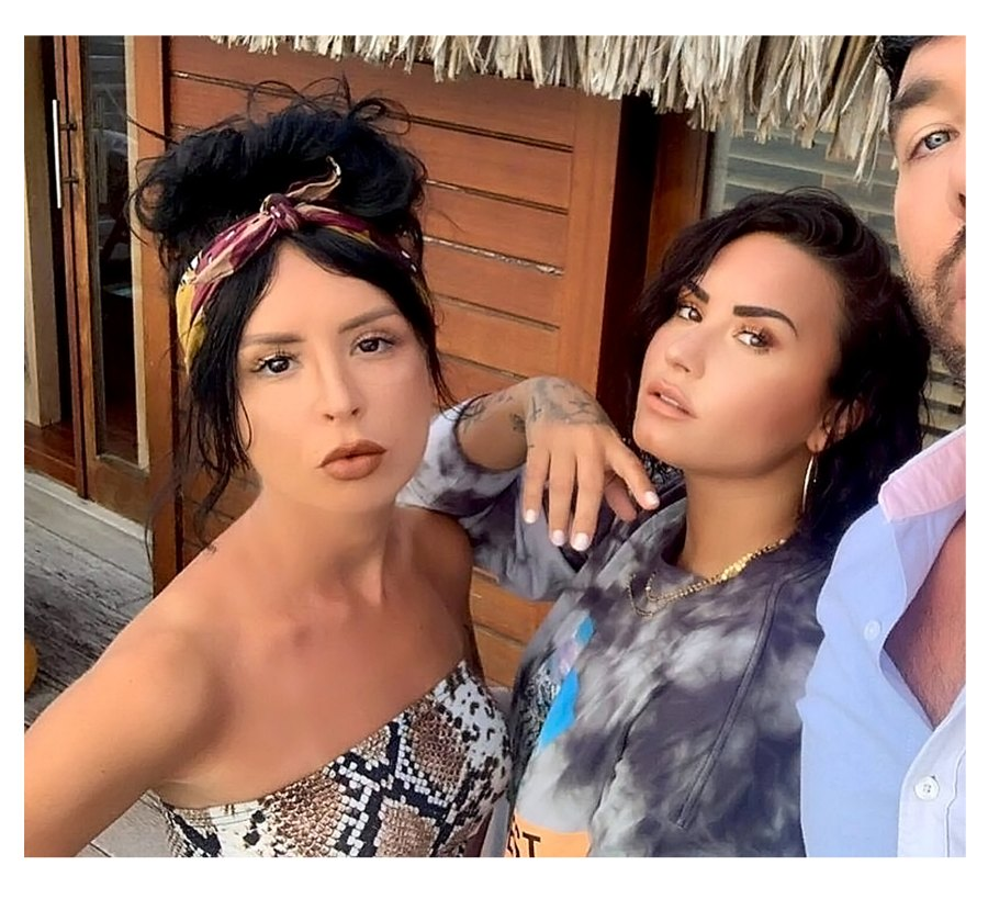 Demi Lovato Former Sober Companion Sirah 5 Things Know