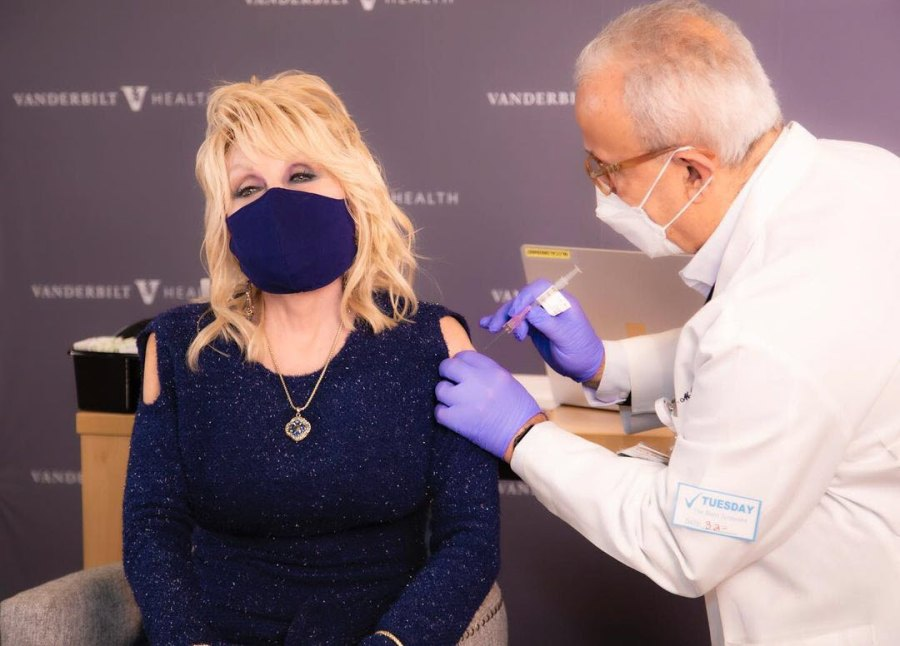 Dolly Parton Gets COVID-19 Shot After Donating Vaccine Research