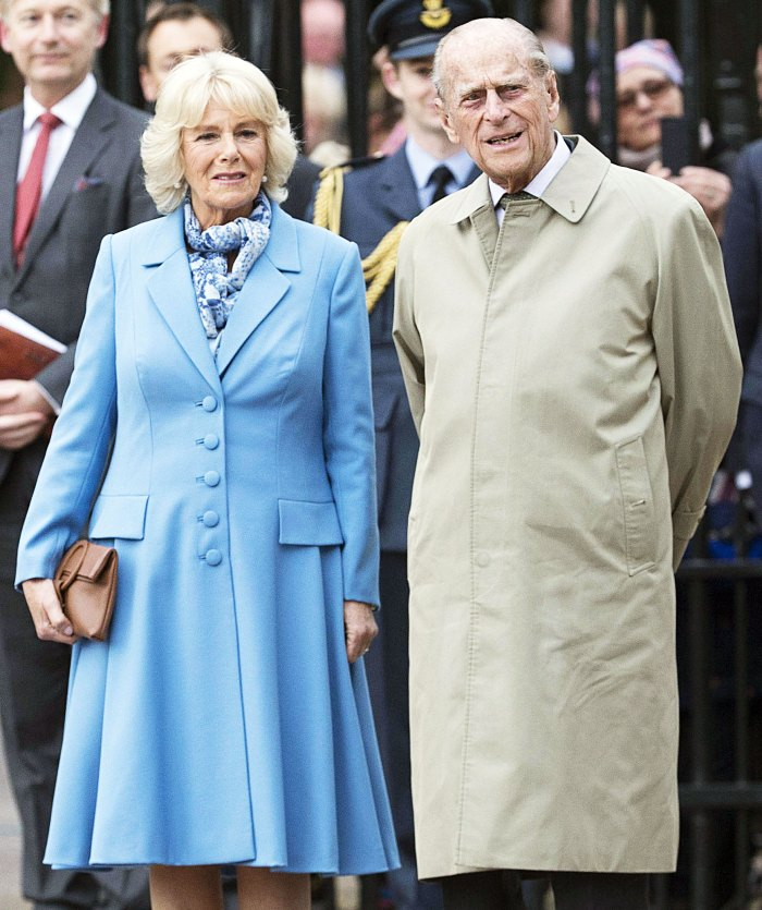 Duchess Camilla and Prince Philip attend Queen Elizabeth 90th birthday celebrations Duchess Camilla Says Prince Philip Is Slightly Improving Amid Hospitalization