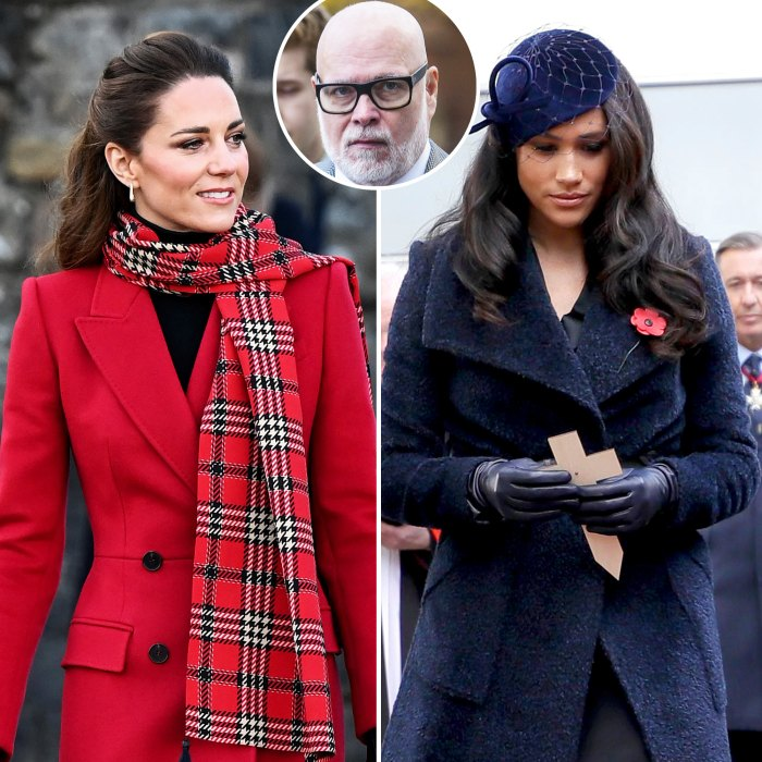Duchess Kate's Uncle Gary Goldsmith Doesn't Think She Made Meghan Markle Cry