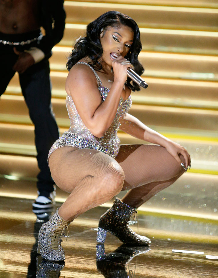 Fans React to Megan Thee Stallion Performance at Grammys 2021