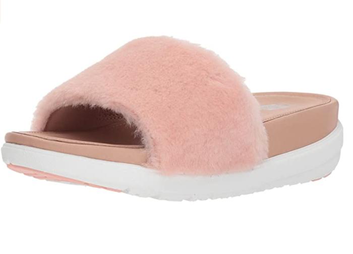 FitFlop Women's Loosh Luxe Slide Sandals