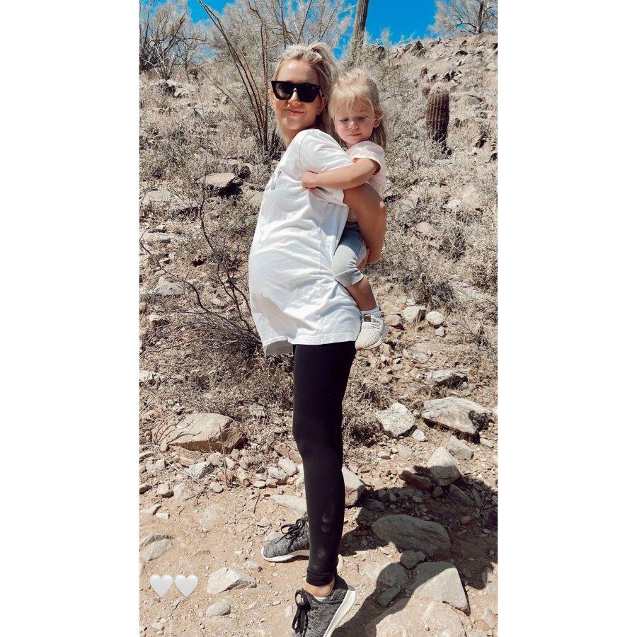 Fun in the Sun! See Pregnant Lauren Burnham's Baby Bump Album