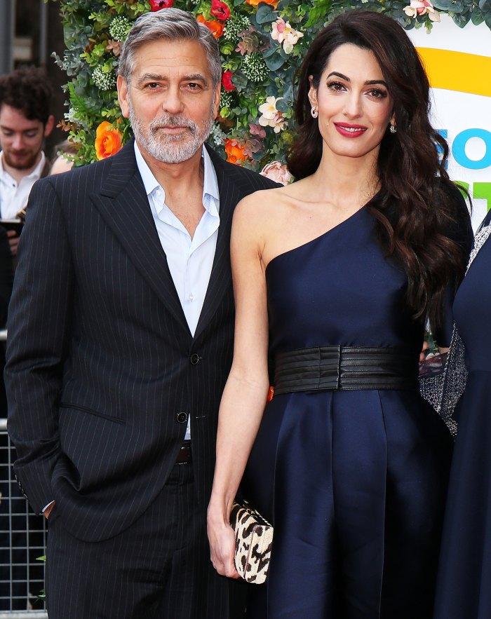 A la esposa de George Clooney, Amal Clooney, no le gusta su personaje de ER