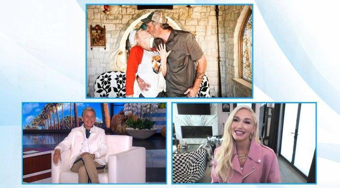 Gwen Stefani Asks Ellen DeGeneres to Be Her Maid of Honor in Blake Shelton Wedding