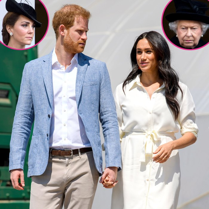 Hot Hollywood Podcast Duquesa Kate Queen Elizabeth II Reacción Meghan Markle Príncipe Harry Entrevista contundente