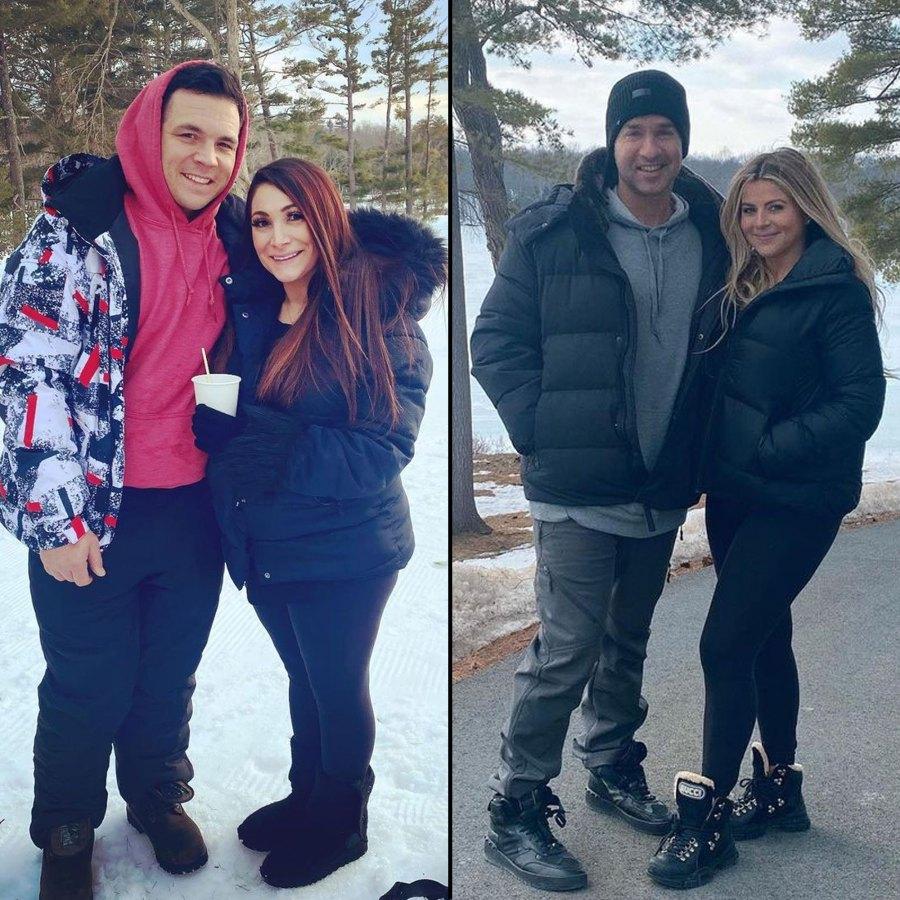 Inside Jersey Shore Pregnant Deena Cortese and Lauren Sorrentino Joint Babymoon