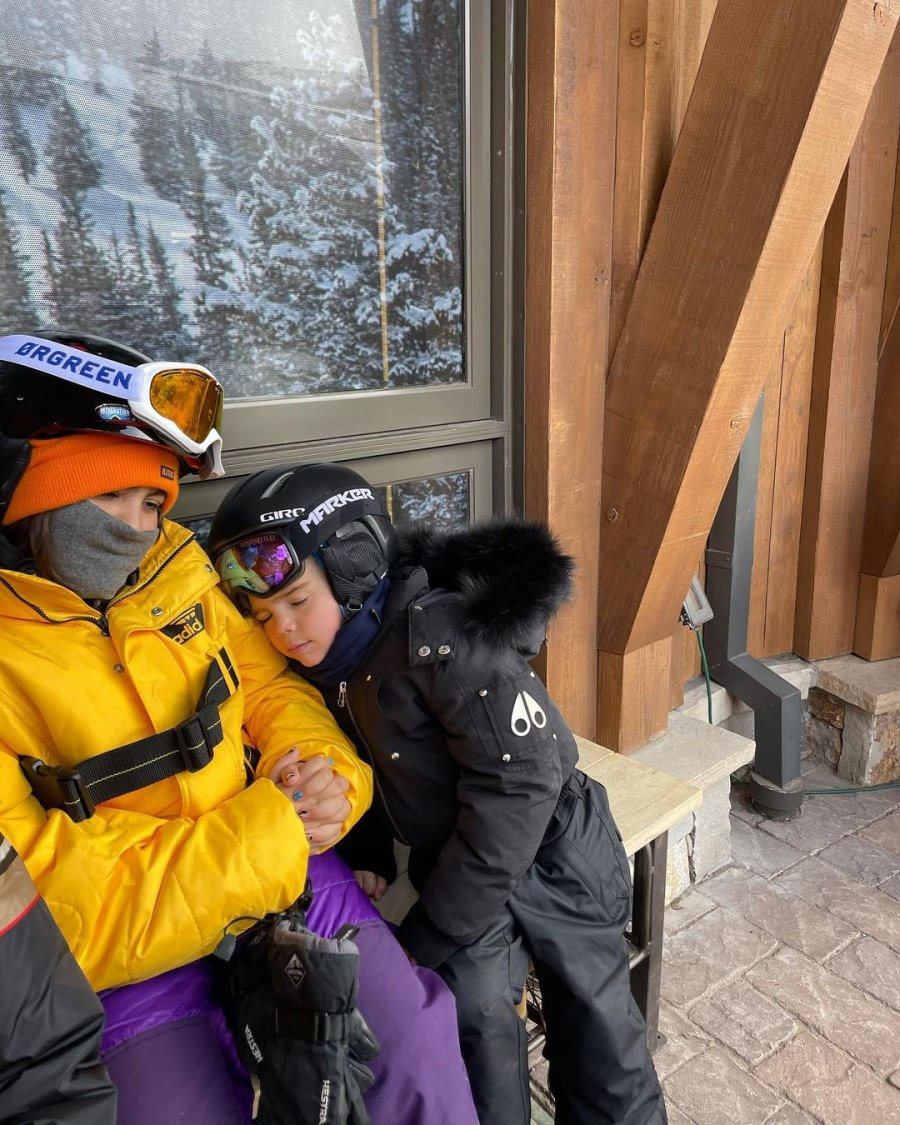 Inside Kourtney Kardashian's Colorado Ski Trip With 3 Kids