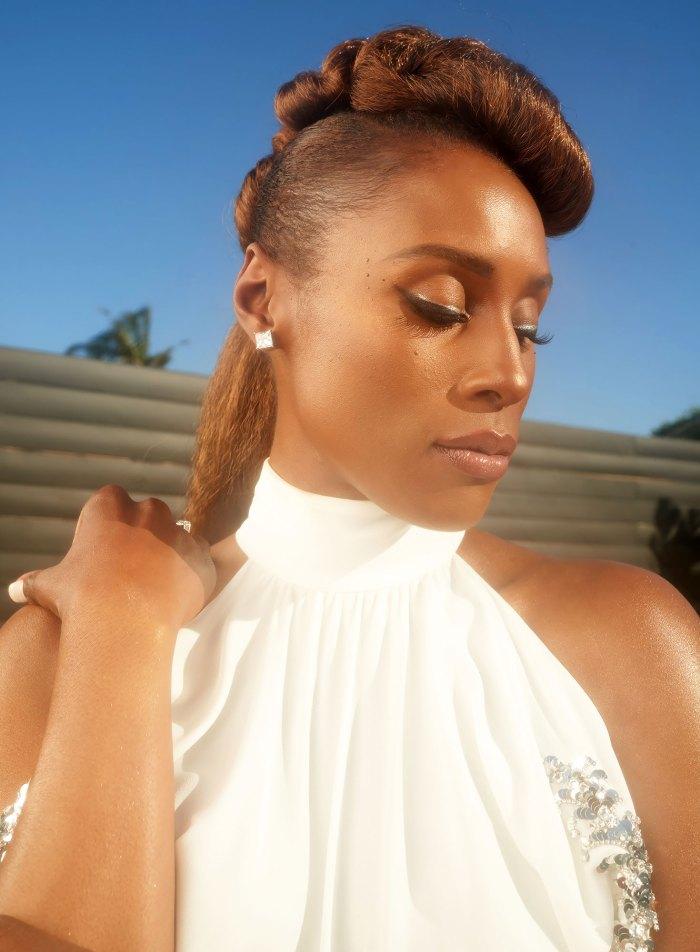 Desglose del glamour de Issa Rae para los premios de imagen NAACP 2021