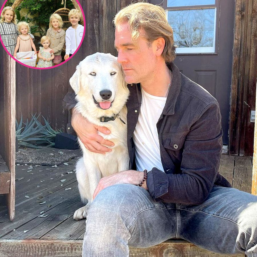 James Van Der Beek Family Say They Feel Blessed After Adopting Dog