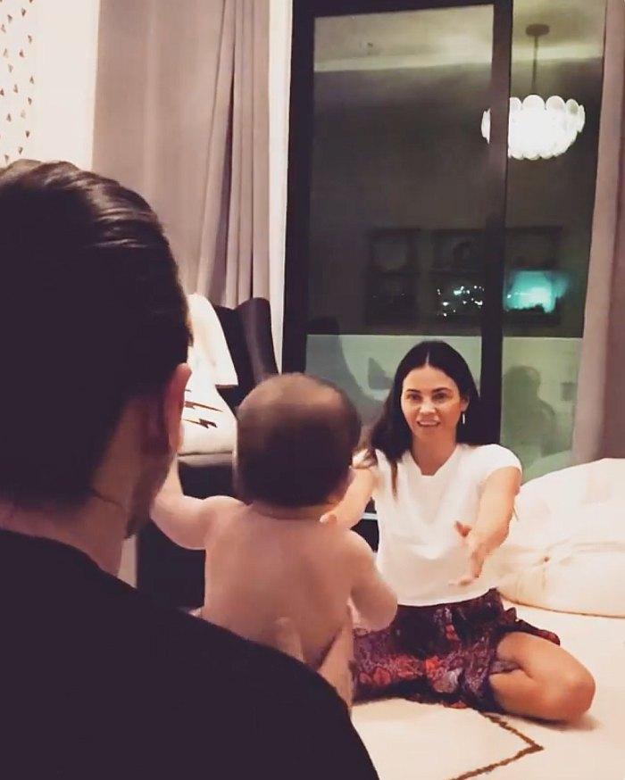El hijo Callum de Jenna Dewan y Steve Kazee da sus primeros pasos mientras celebra su cumpleaños