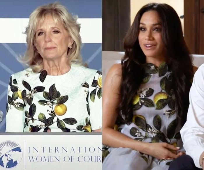 Jill Biden toma estilo Inspo de Meghan Markle para el Día Internacional de la Mujer