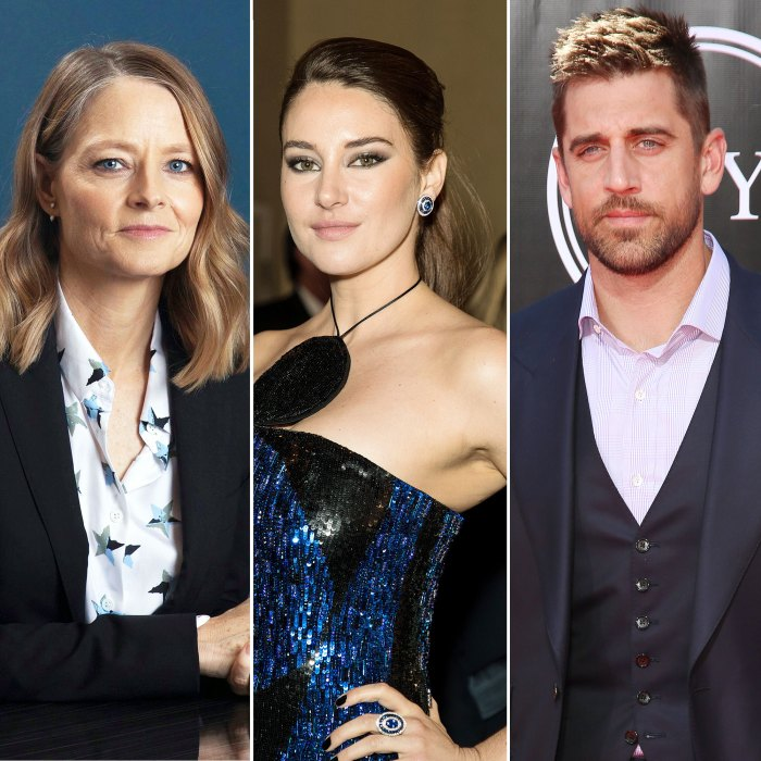 Jodie Foster Says She Did Not Set Up Costar Shailene Woodley With Fiance Aaron Rodgers