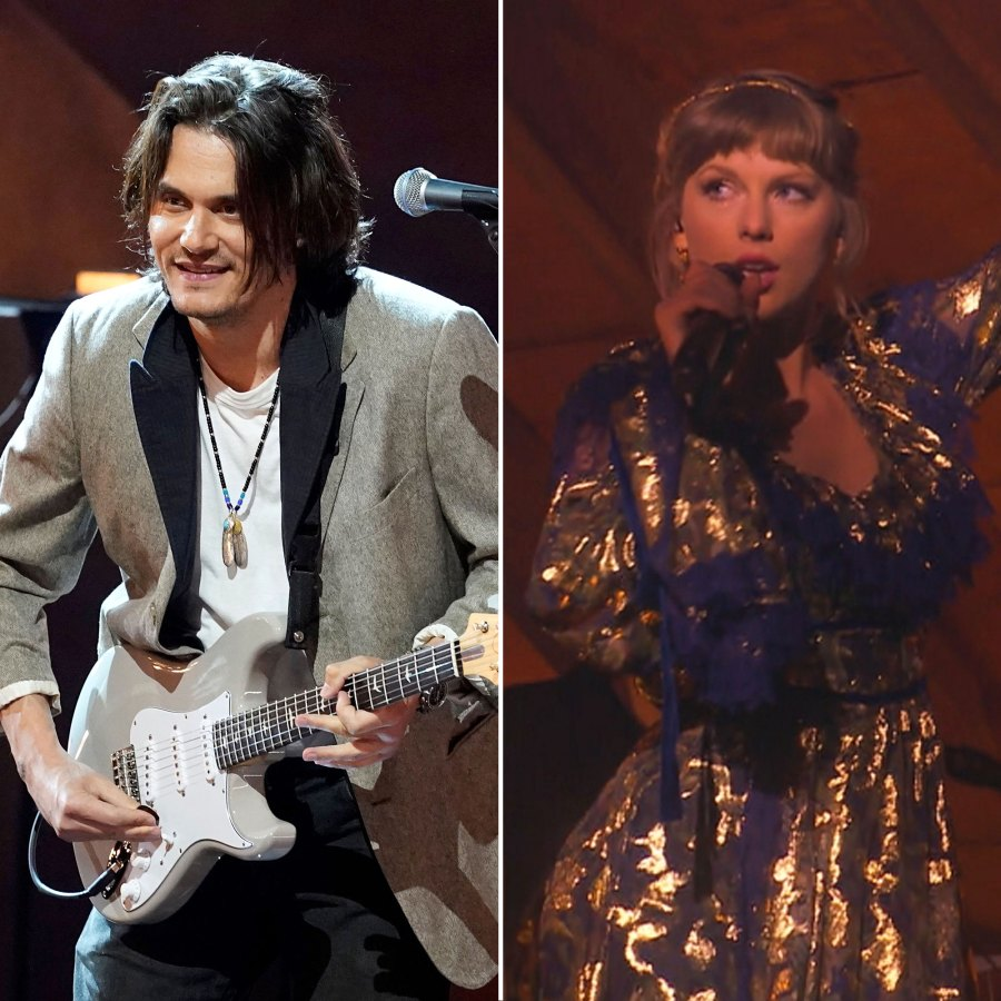 John Mayer and Taylor Swift Celebrity Exes Who Attended the Same Awards Shows